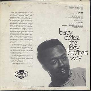 Baby Cortez / The Isley Brothers Way back