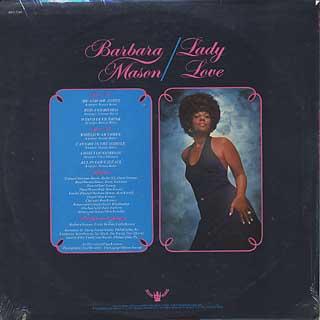 Barbara Mason / Lady Love back