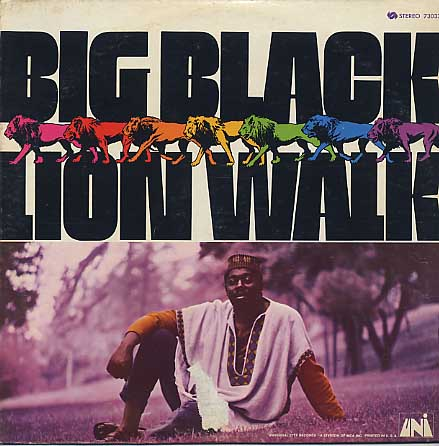 Big Black / Lion Walk front