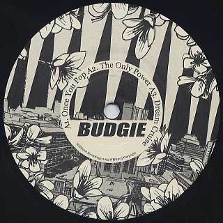 Budgie / The Budgie EP label