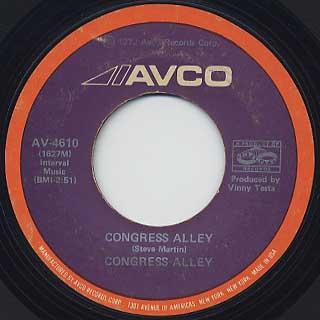 Congress Alley / Congress Alley c/w God Bless The Children front