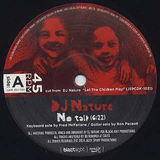 DJ Nature / Let The Children Play EP2 back