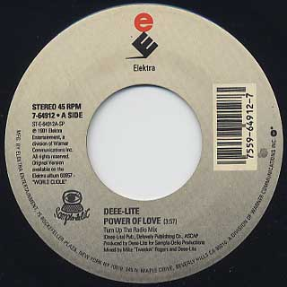 Deee-Lite / Power Of Love(45) front