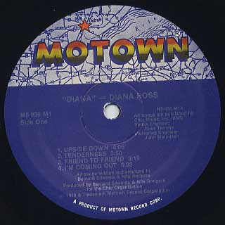 Diana Ross / Diana label