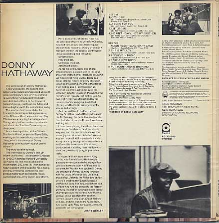 Donny Hathaway / S.T. back