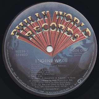 Eugene Wilde / S.T. label