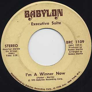 Executive Suite / I'm A Winner Now c/w You Got It