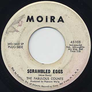Fabulous Counts / Scrambled Eggs c/w Dirty Red