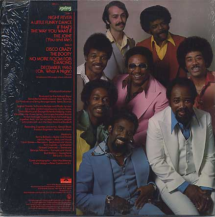 Fatback Band / Night Fever back
