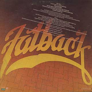 Fatback / On The Floor back