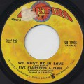 Five Stairsteps & Cubie / We Must Be In Love c/w Little Young Lover