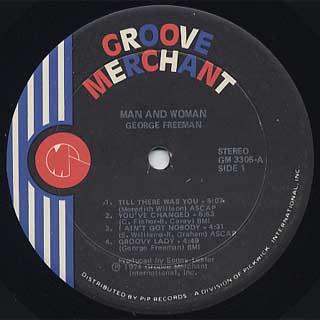 George Freeman / Man And Woman label