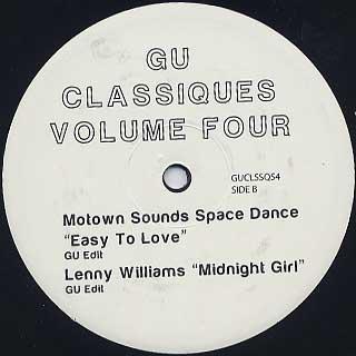 Glenn Underground / GU Classiques Vol. 4 back