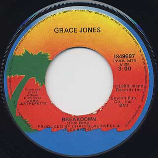 Grace Jones / Breakdown c/w Pull Up To The Bumper