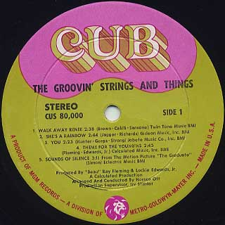 Groovin' Strings And Things / S.T. label