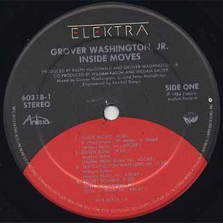 Grover Washington, Jr. / Inside Moves label