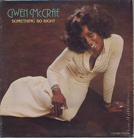 Gwen McCrae / Something So Right front