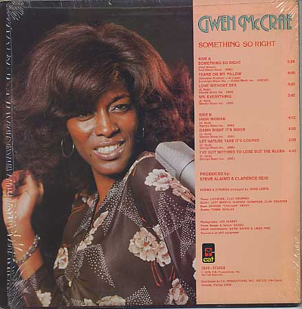Gwen McCrae / Something So Right back