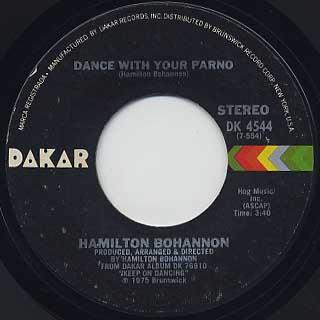 Hamilton Bohannon / Foot Stompin Music back