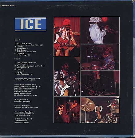 Ice / S.T. back