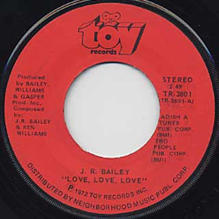 J.R. Bailey / Love, Love, Love