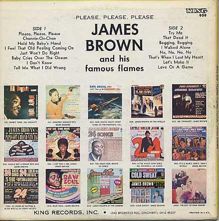 James Brown / Please, Please, Please back