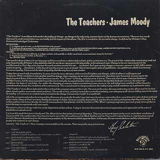 James Moody / The Teachers back