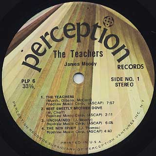 James Moody / The Teachers label