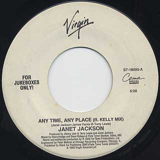 Janet Jackson / Any Time, Any Place(45)