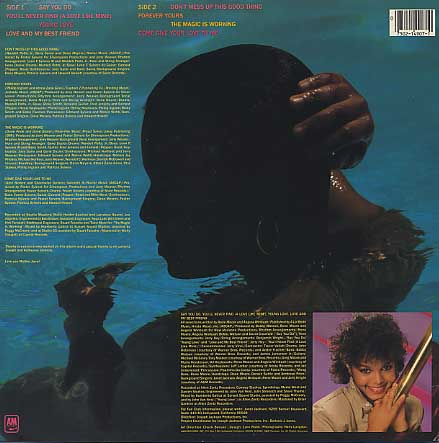 Janet Jackson / S.T. back