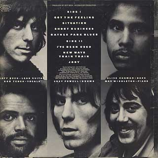 Jeff Beck Group / Rough And Ready back