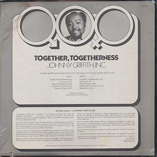 Johnny Griffith, Inc. / Together, Togetherness back
