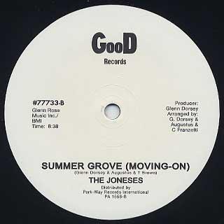 Joneses / Summer Groove back