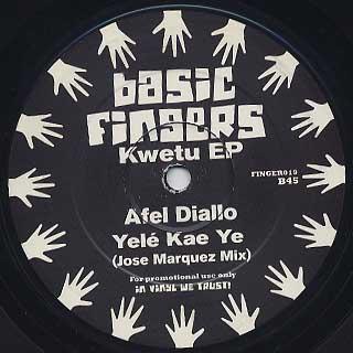 Jose Marquez / Kwetu EP back