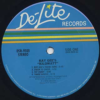 Kay-gee's / Kilowatt label