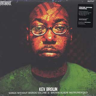 Kev Brown / Songs Without Words Volume 3: Brown Album Instrumentals