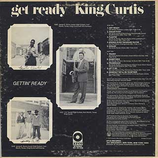 King Curtis / Get Ready back