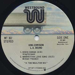King Errisson / L.A. Bound label