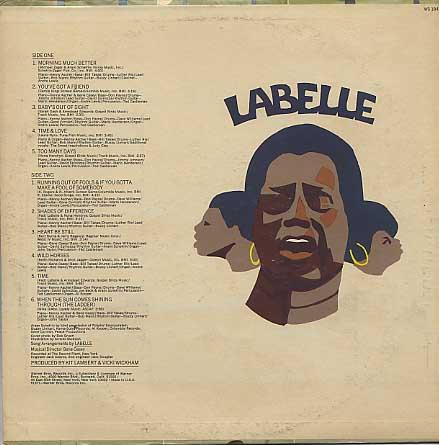 Labelle / S.T. back