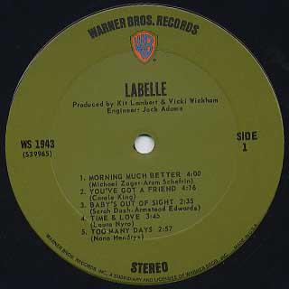 Labelle / S.T. label