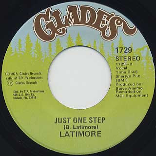 Latimore / There's A Red-Neck In The Soul Band c/w Just One Step back