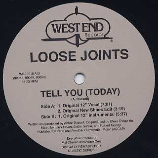 Loose Joints / Tell You(Today)