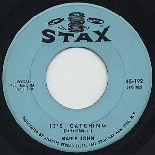 Mable John / Your Good Thing c/w It's Catching back