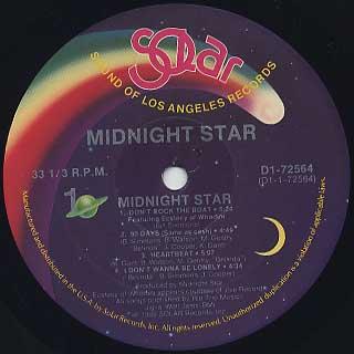 Midnight Star / S.T. label