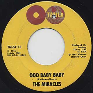 Miracles / Ooo Baby Baby