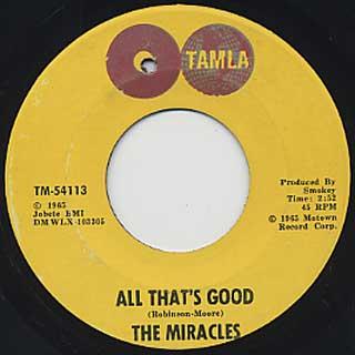 Miracles / Ooo Baby Baby back