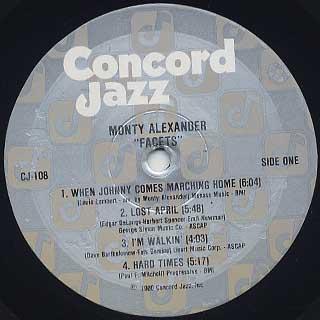 Monty Alexander / Facets label