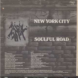 New York City / Soulful Road back