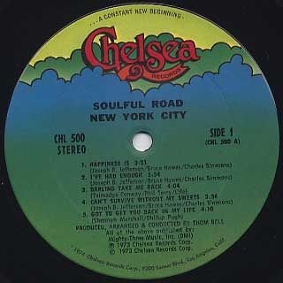 New York City / Soulful Road label