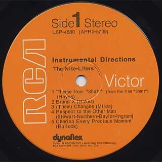 Nite-Liters / Instrumental Directions label